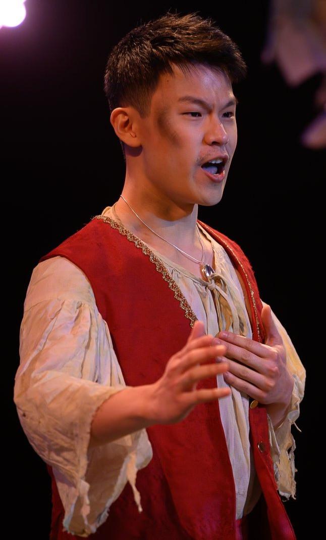 Wan Tat Cheah Baritone Performing in the Enchanted Island