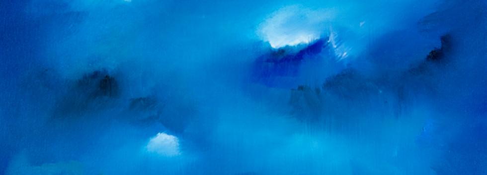 De la serie Beauty and Light 1 óleo sobre lienzo 25 x 35 cm