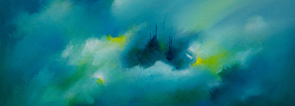 De la serie Beauty and Light 4 óleo sobre lienzo 25 x 35 cm
