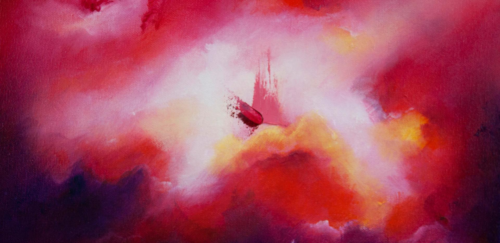 De la serie Beauty and Light 3 óleo sobre lienzo 25 x 35 cm