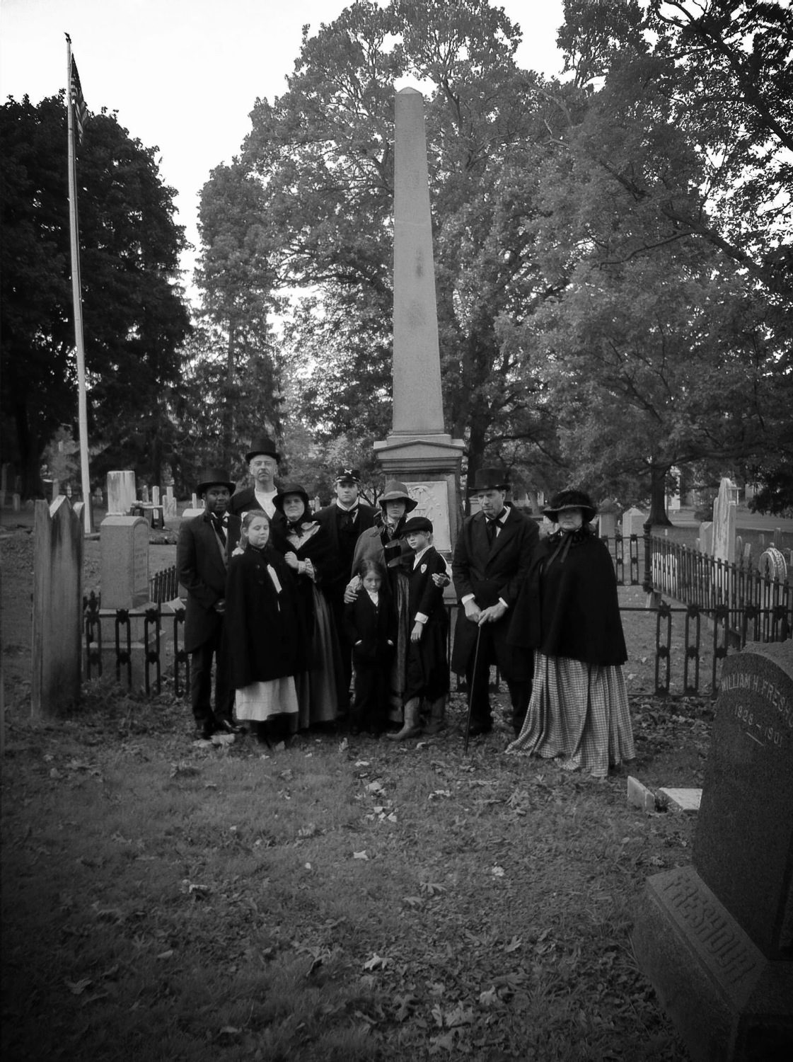 From Beyond: Washington St. Cemetery Stories
