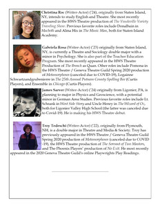 Supernatural Saunter Playbill Bios Page 2 of 4