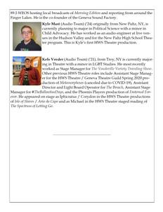 Supernatural Saunter Playbill Bios Page 4 of 4
