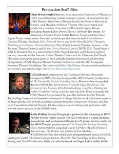 Supernatural Saunter Playbill Bios Page 3 of 4