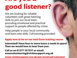 Victim Support Volunteers