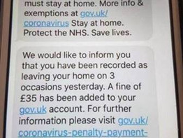 WARNING - HOAX GOVERNMENT MESSAGES