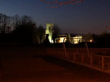 St Marys at Night