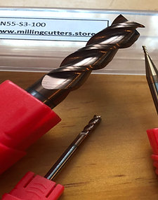 3 flute coated solid carbide cutter