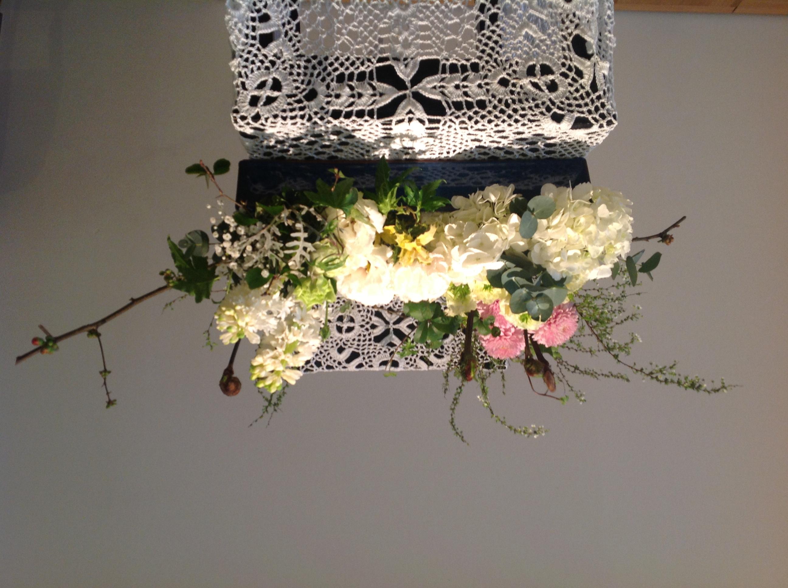 2013/2/10、聖日礼拝のお花