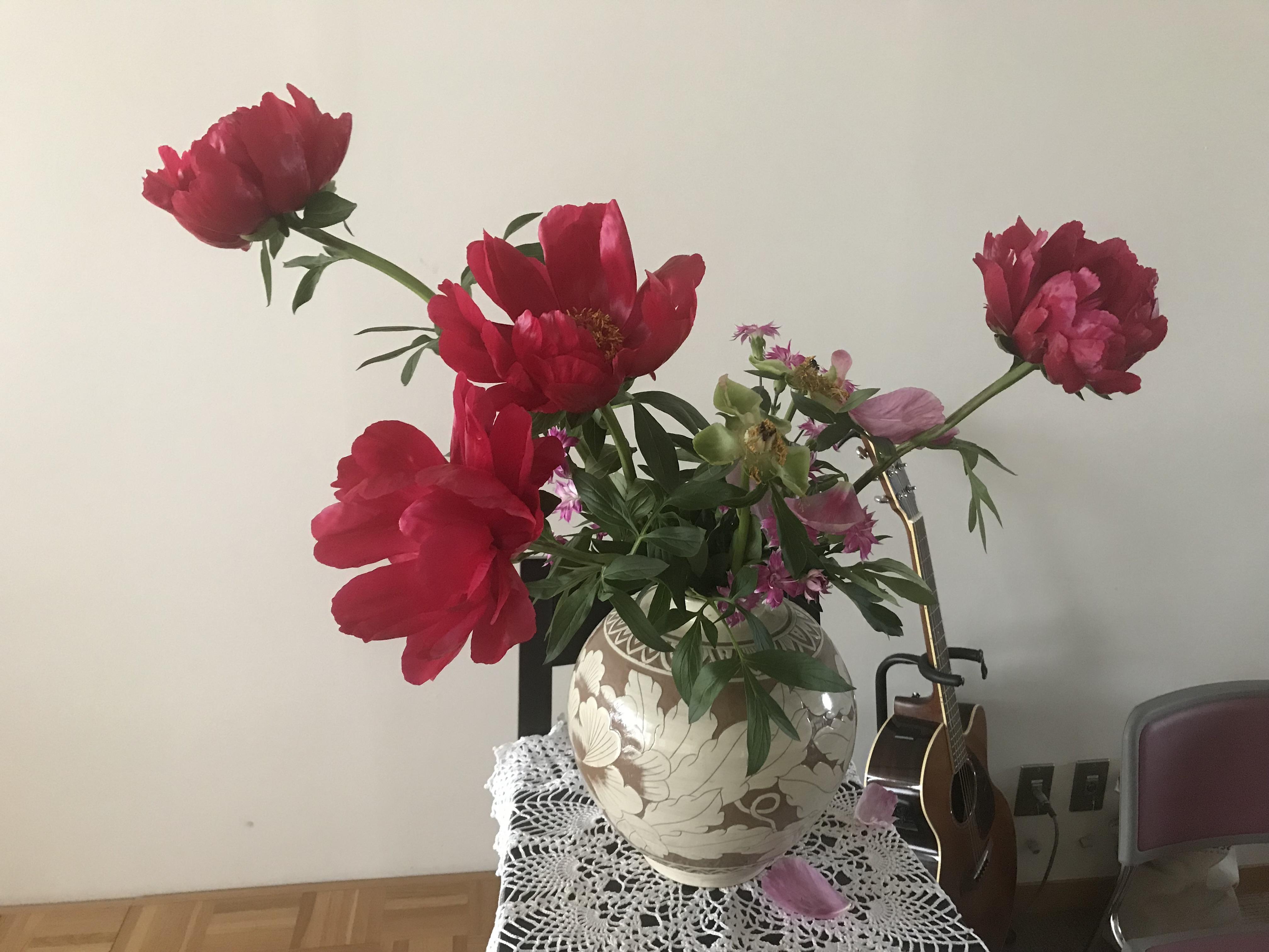 2018/5/20、聖日礼拝のお花
