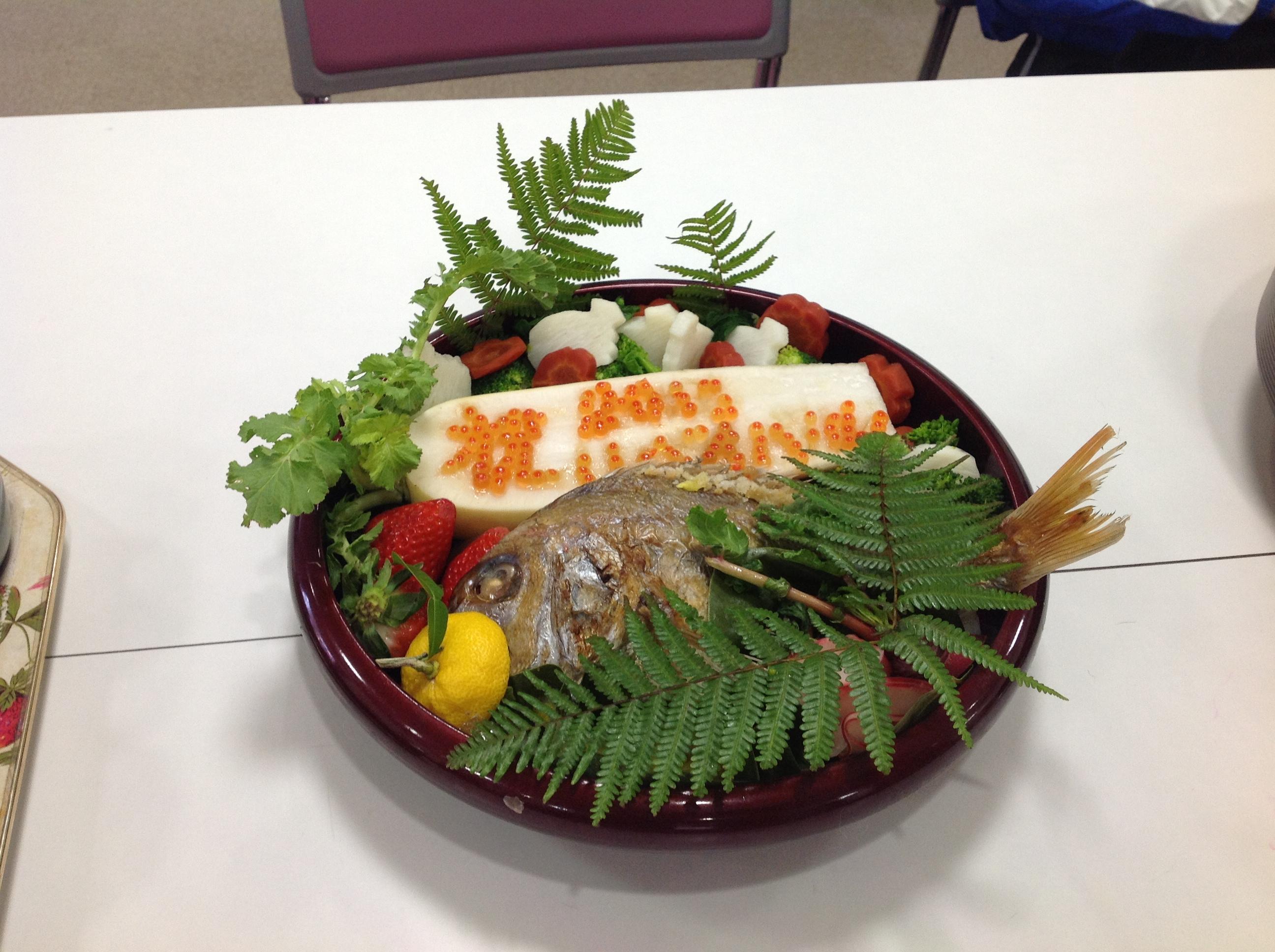 元旦礼拝後のお食事(一月)