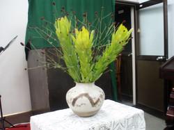 2010 /8/29、聖日礼拝のお花