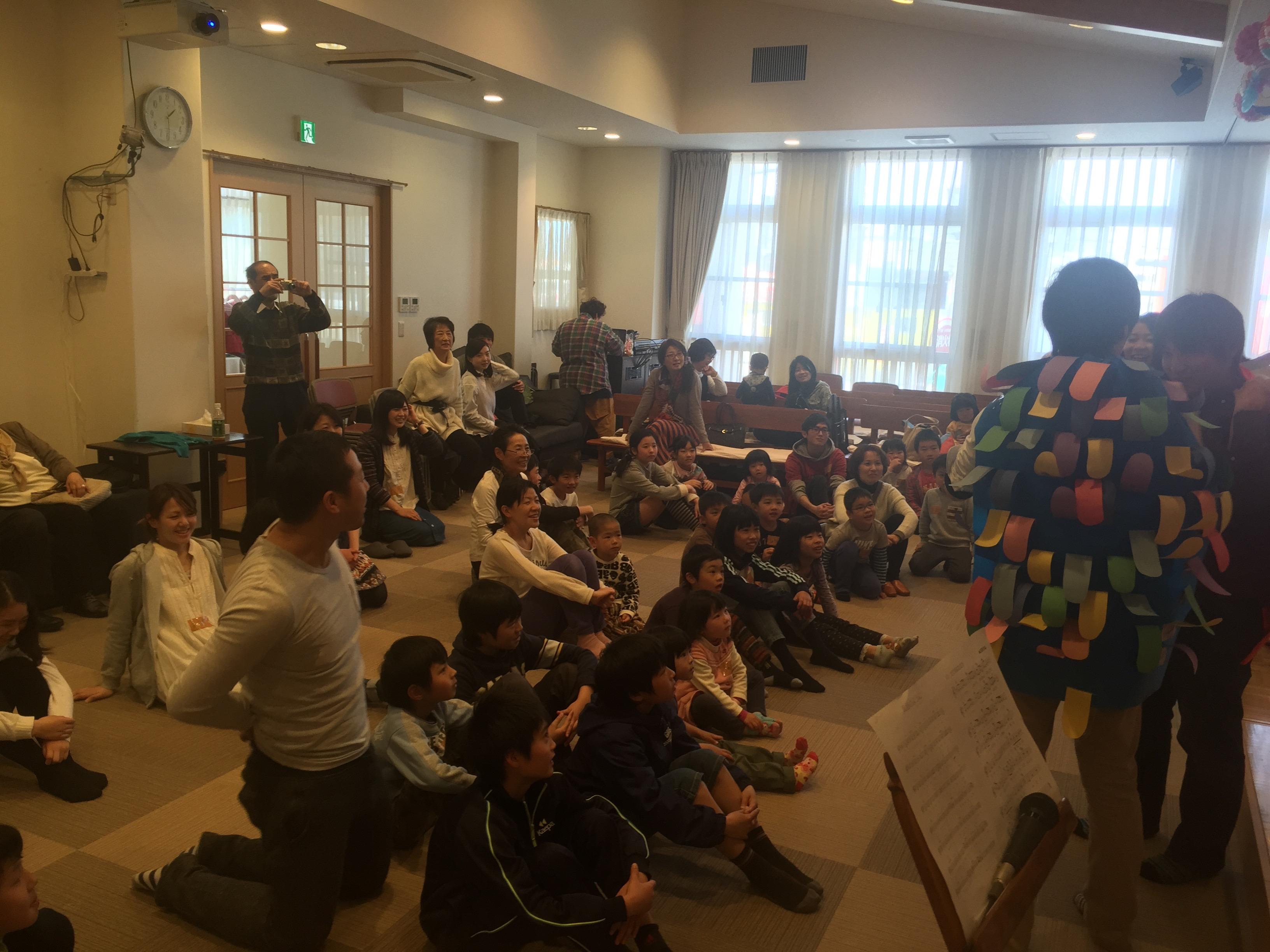 教会学校:子供イースター祝会