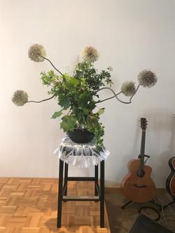 2017/6/25、聖日礼拝のお花