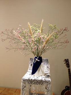 2014/8/22.聖日礼拝のお花