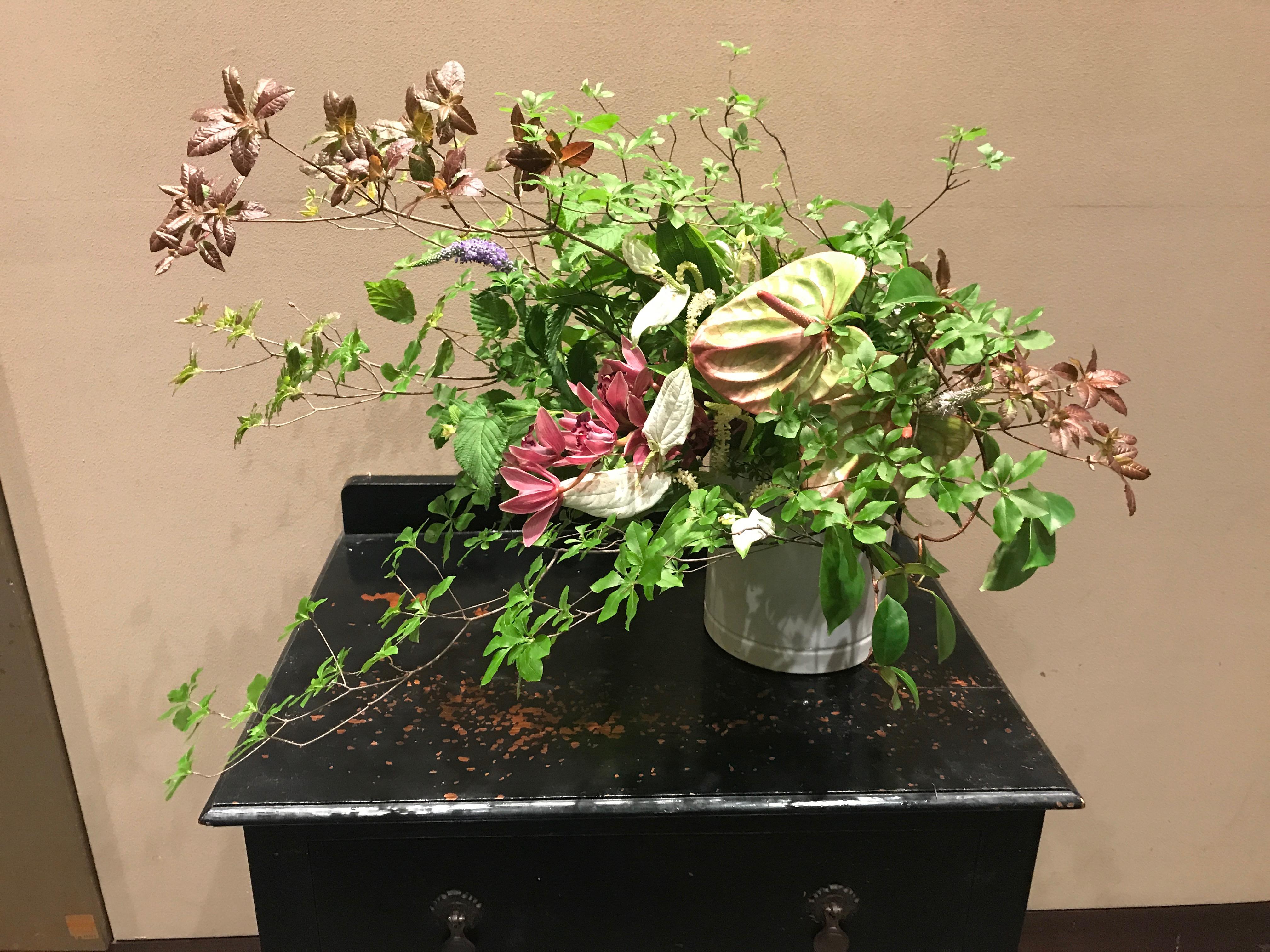 2017/6/18、聖日礼拝のお花