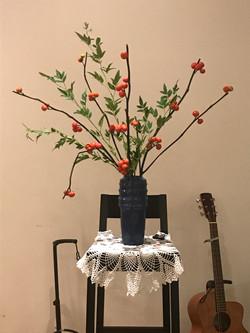 2017/9/10、聖日礼拝のお花