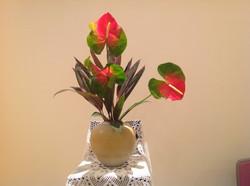 2014/2/2.聖日礼拝のお花