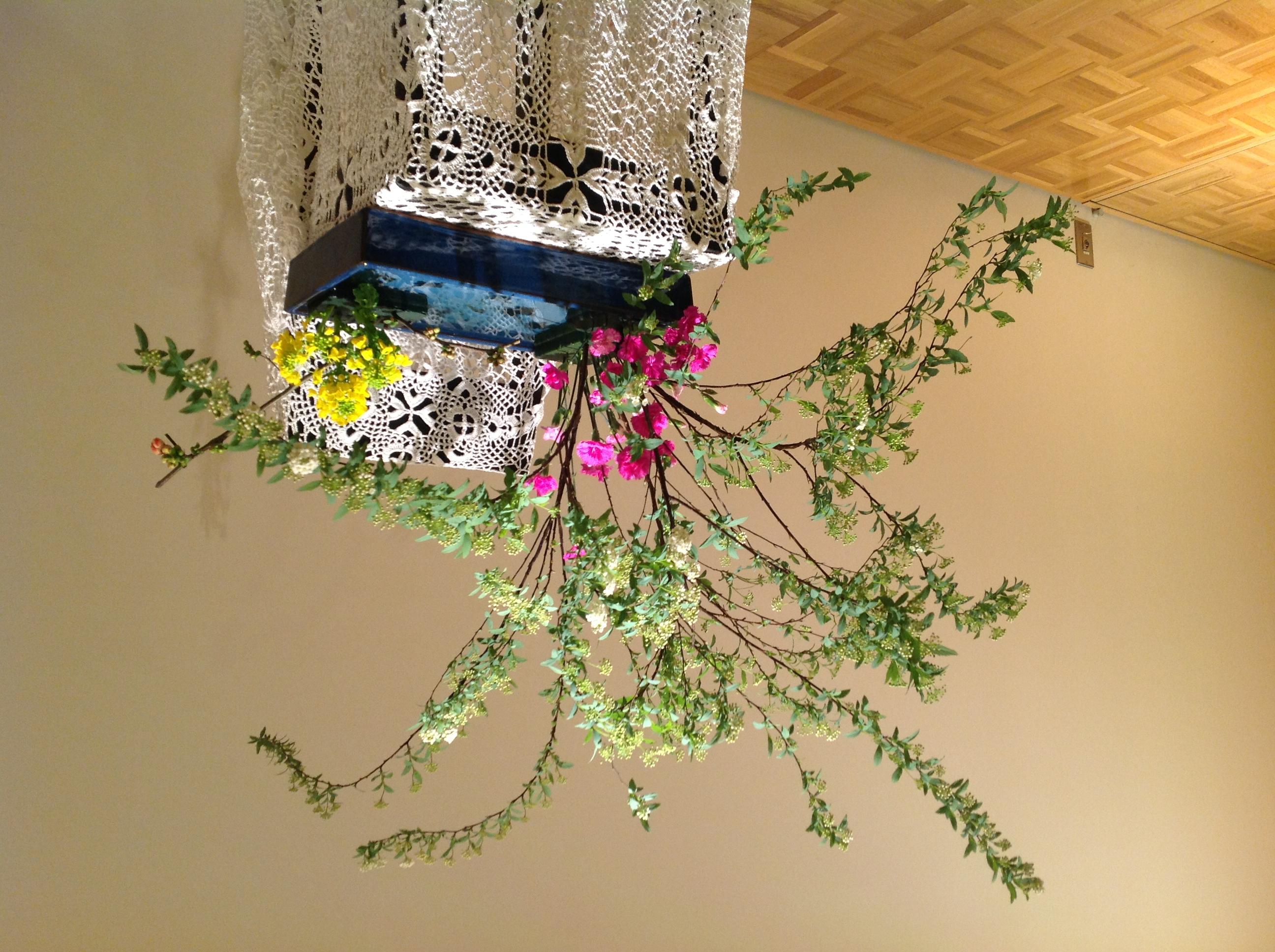 2013/2/17、聖日礼拝のお花