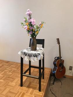 2017/6/4、聖日礼拝のお花