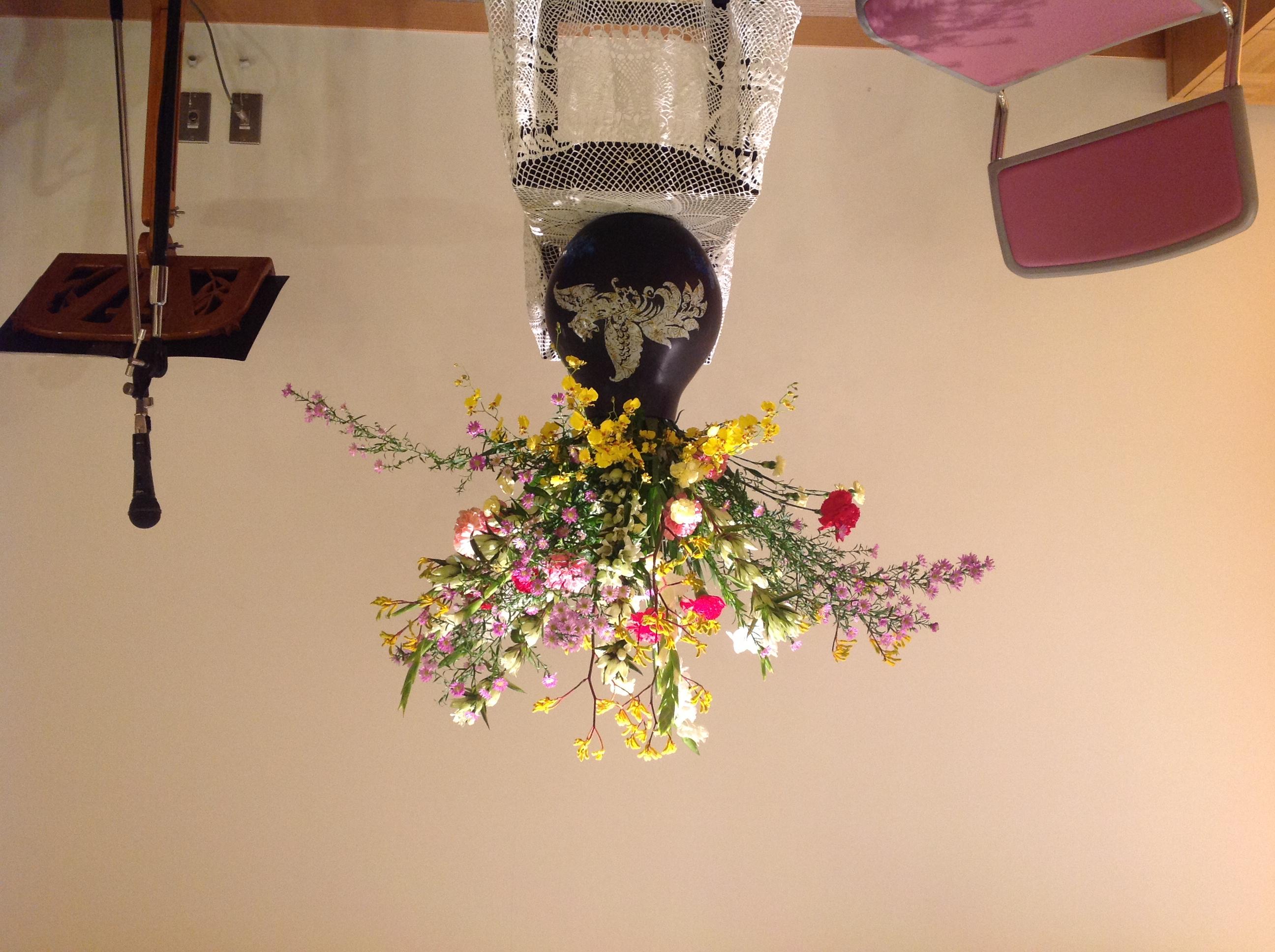2012/11/4、聖日礼拝のお花