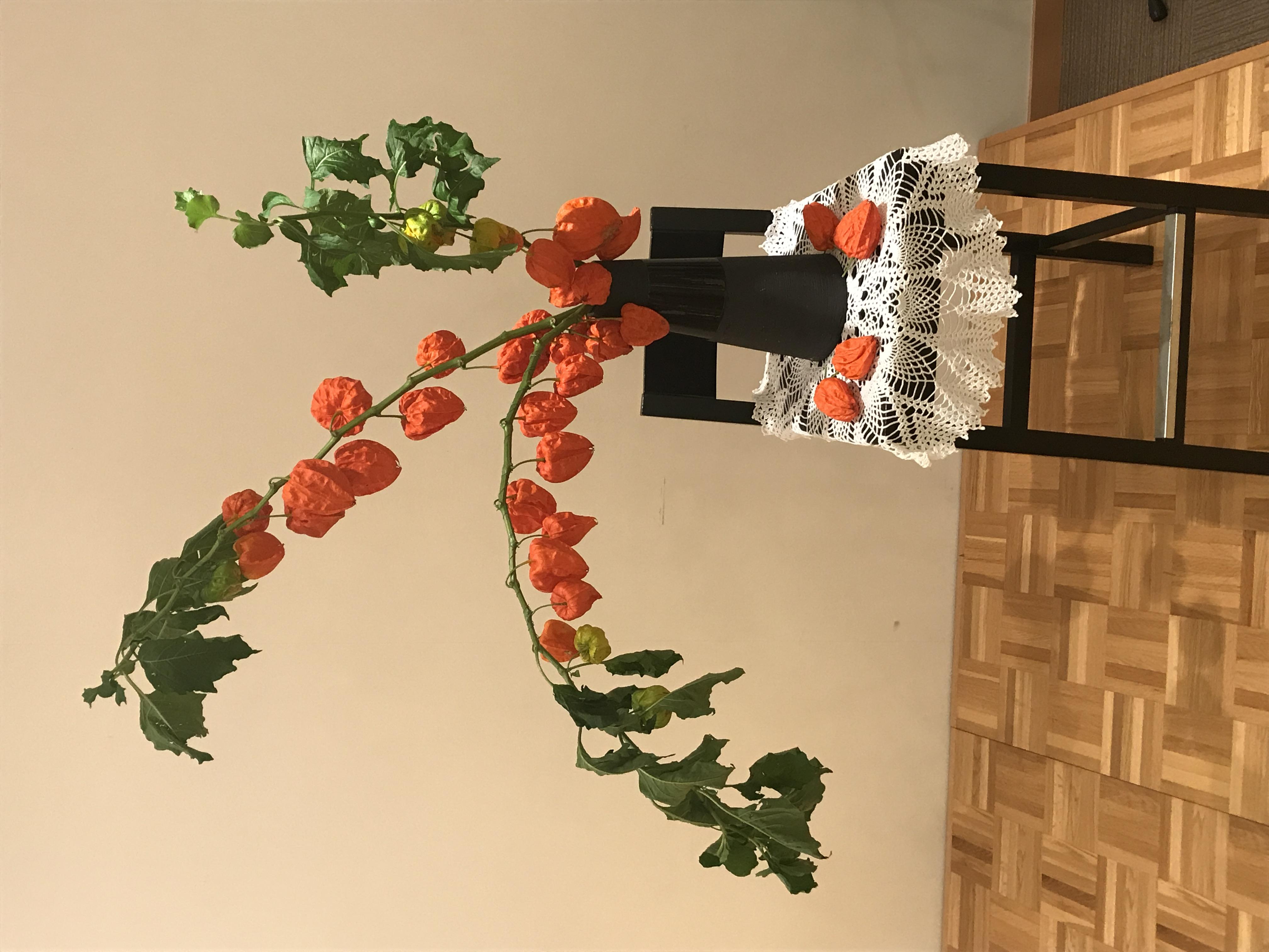 2017/08/13、聖日礼拝のお花