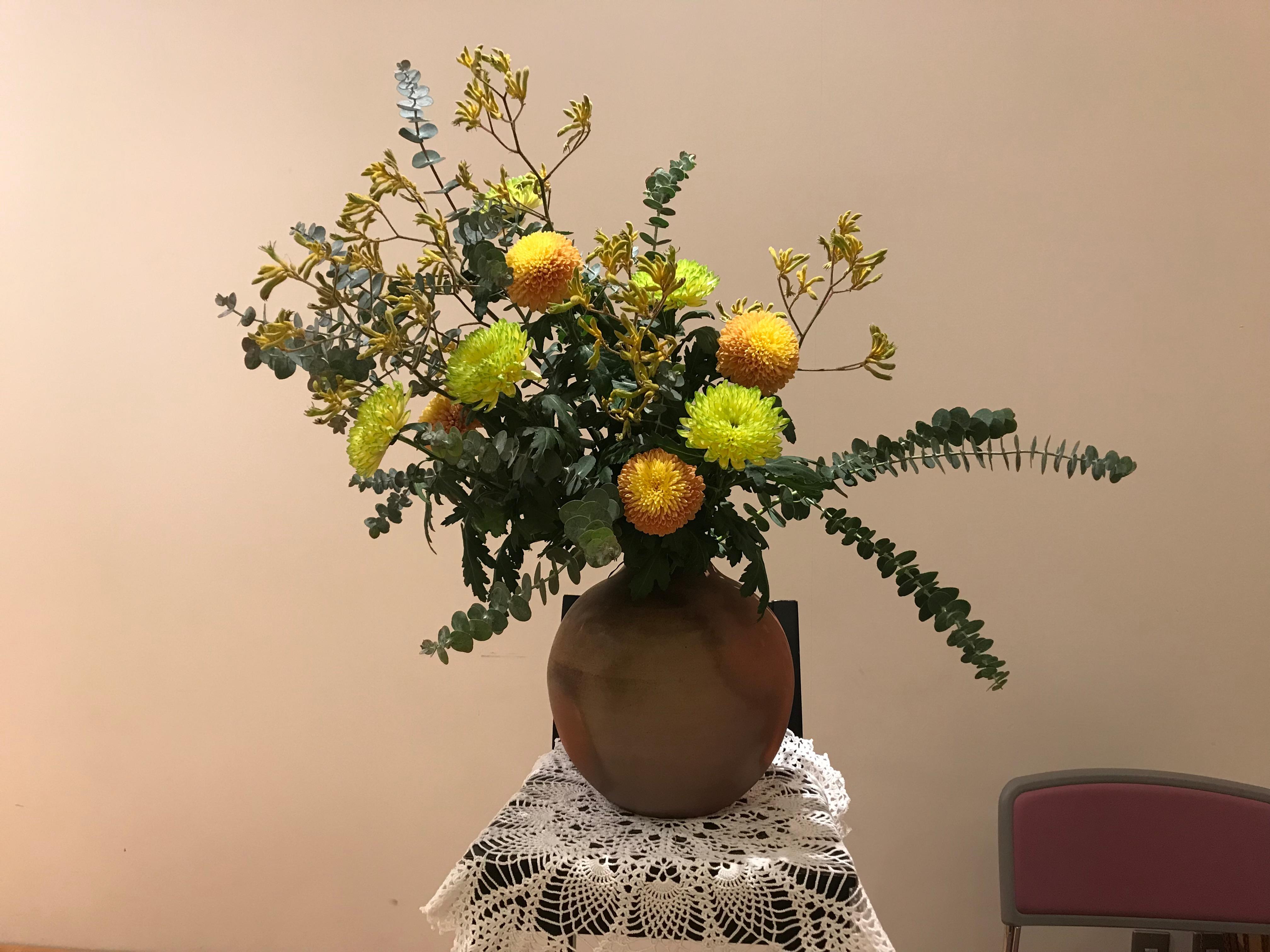 2017/12/26.聖日礼拝のお花