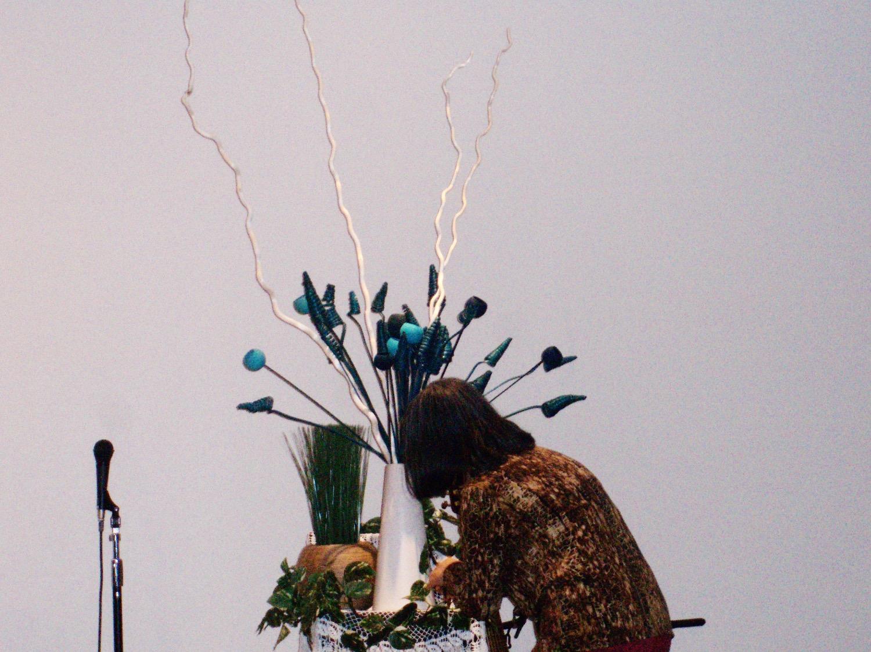 2011/6/5、聖日礼拝のお花