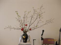 2012/3/21、聖日礼拝のお花
