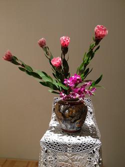2013/1/27、聖日礼拝のお花