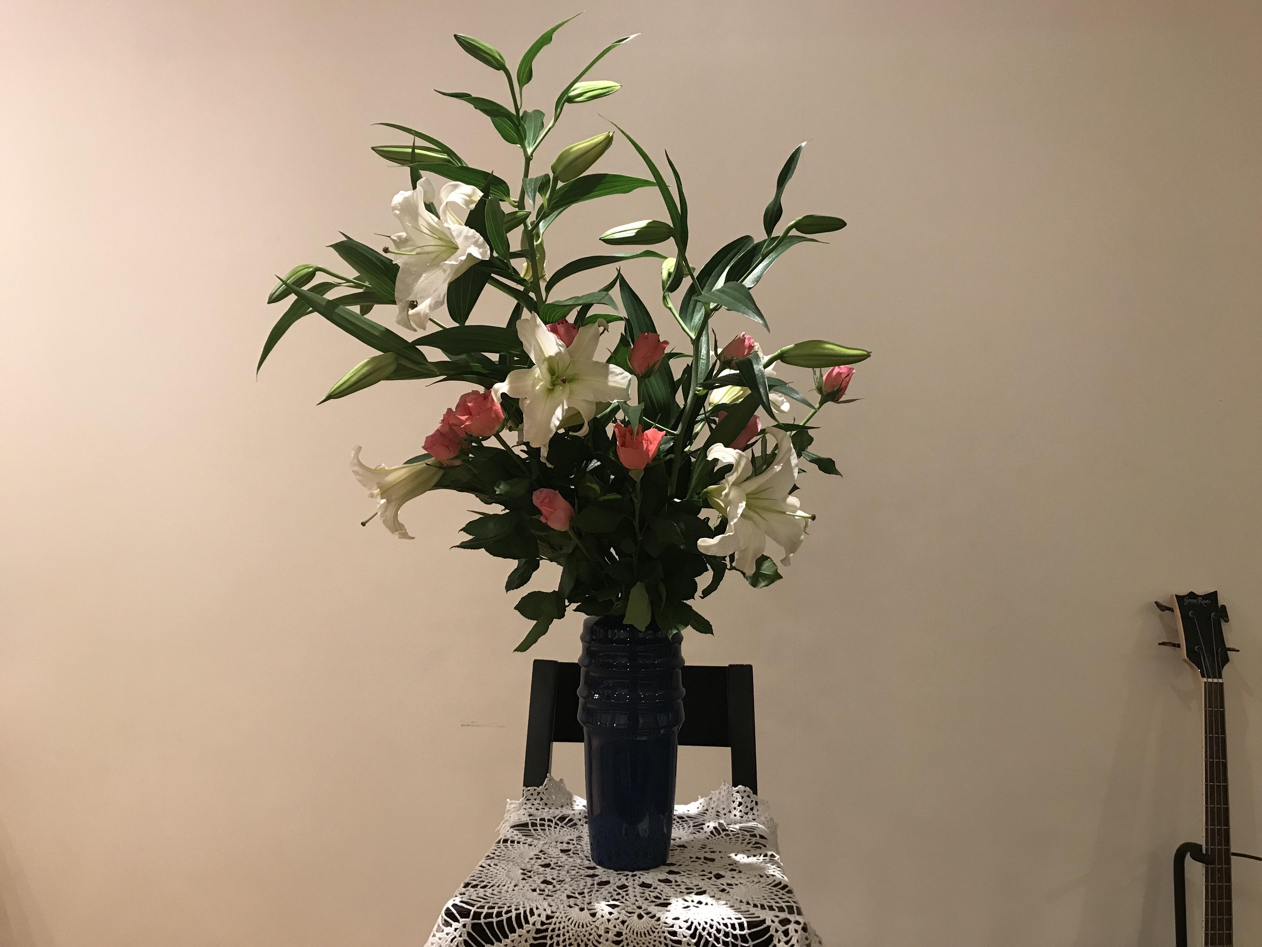 2018/3/11、聖日礼拝のお花