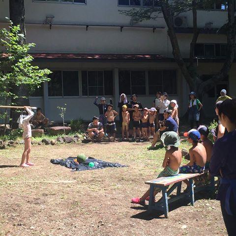 教会学校:夏のキャンプ