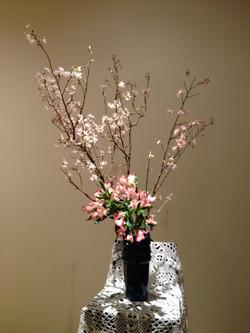 2013/2/24、聖日礼拝のお花