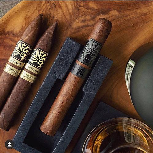 Concrete Cigar Holder And Coaster Set by Storcks Designs