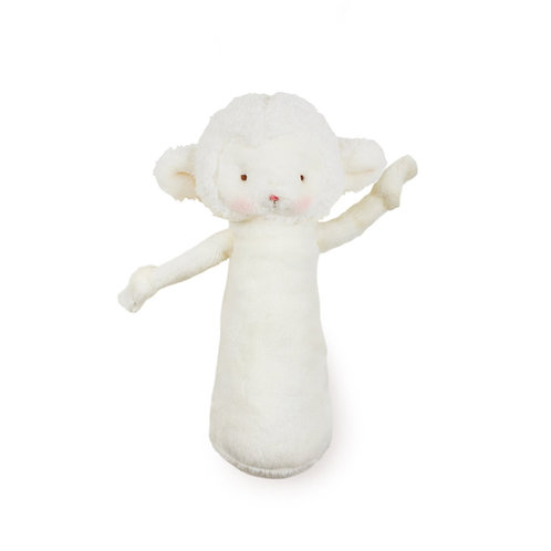 Friendly Chime Lamb in White by Bunnies By the Bay