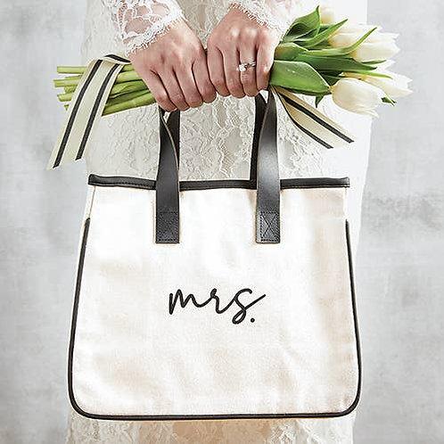 Mrs. Mini Canvas Tote
