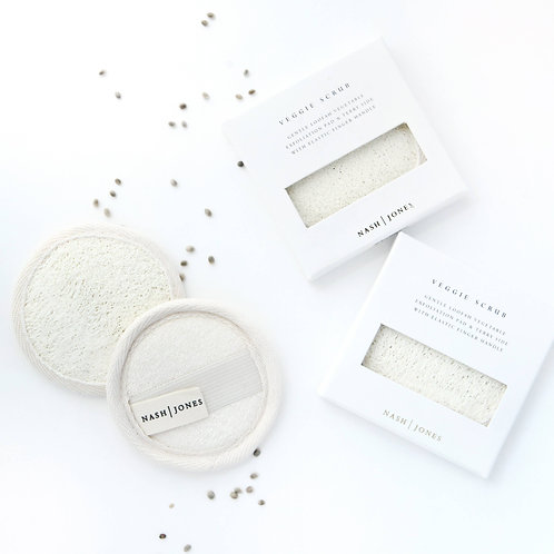 Loofah Vegetable Exfoliation Pad by Nash and Jones