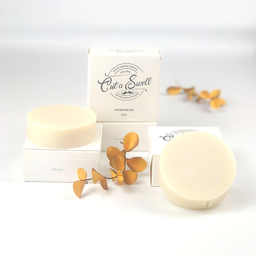 Tweed Shave Soap by Caron & Co Bath and Body
