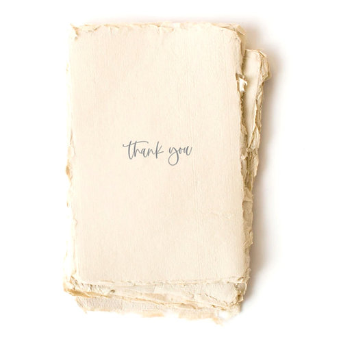 """""""Thank You"""" Card by Paper Barista"""