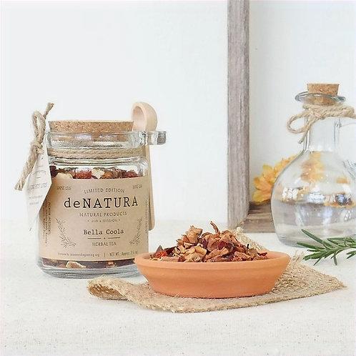 Bella Coola Loose Tea in Glass Jar by daNATURE