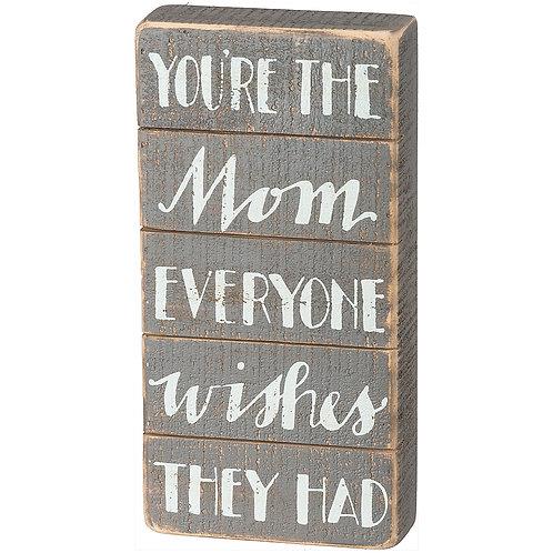 Slat Box Sign for Moms