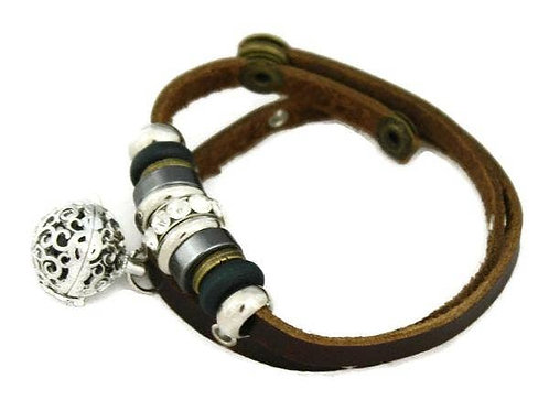 Modern Charm Essential Oil Diffuser Bracelet by Destination Oils