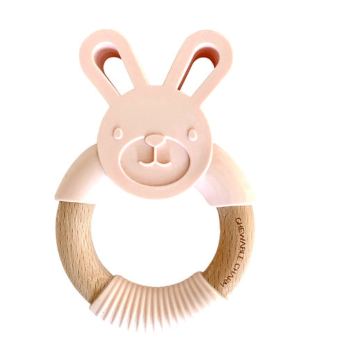 Bunny Teether by Chewable Charm