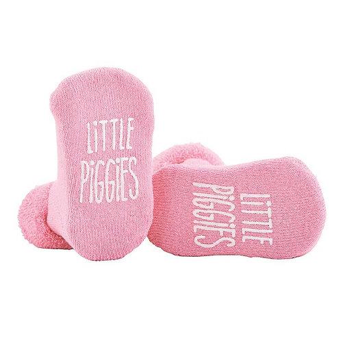 """""""Little Piggies"""" Baby Socks"""