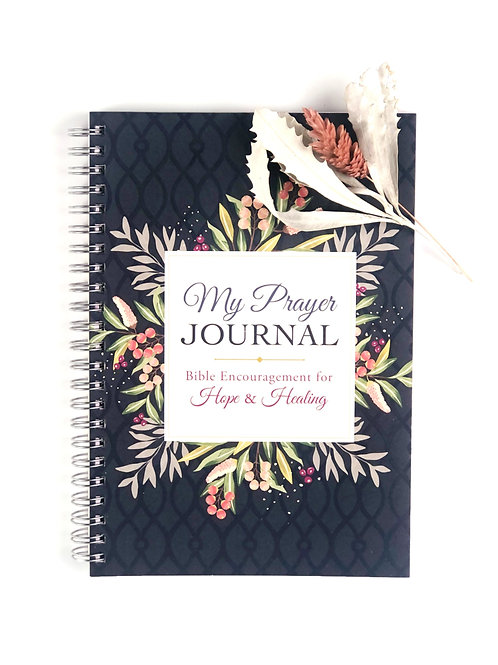 My Prayer Journal - Encouragement for Hope and Healing