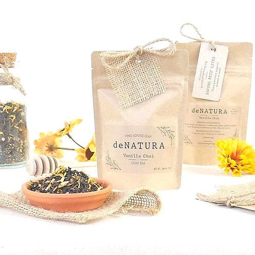 Vanilla Chai Loose Tea in a Craft Pouch by daNATURE