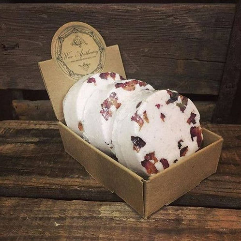 1 piece Rose Botanical Bath Bomb by Wax Apothecary