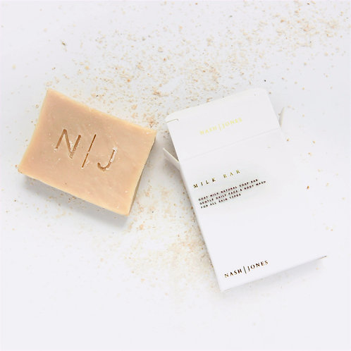 Goat Milk Cleansing Bar by Nash and Jones