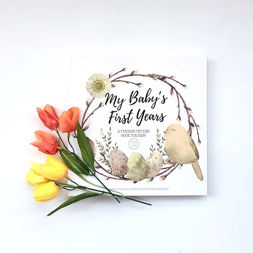 Baby First Years Memory Book - Wonderland by KiaBabies