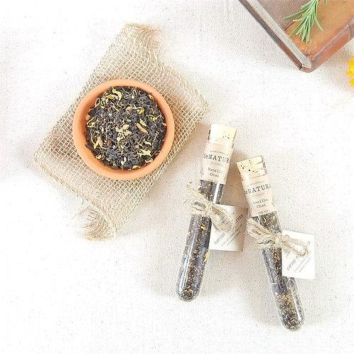Vanilla Chai Loose Tea in Single Glass Tube by daNATURE